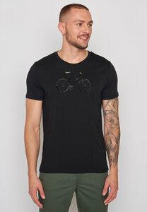 Herren Shirt 100% Biobaumwolle Bike Cross Guide - GreenBomb