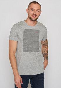 Herren Shirt 100% Biobaumwolle Animal Mole Meadow Guide - GreenBomb