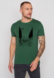 Herren Shirt 100% Biobaumwolle Bike Jump Guide - GreenBomb
