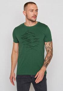 Herren Shirt 100% Biobaumwolle Nature Hike Guide - GreenBomb