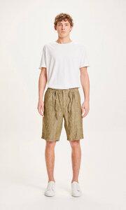 """Herren Shorts """"FIG loose linen shorts"""" von KnowledgeCotton Apparel - VEGAN - KnowledgeCotton Apparel"""