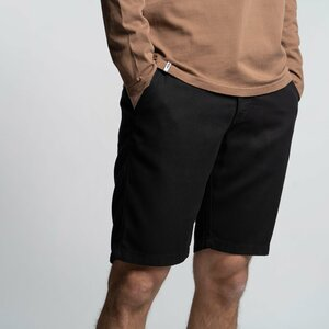 Shorts Herren - Tencel grau/schwarz - Vresh Clothing