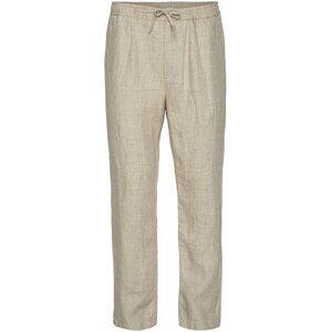 "Herren Shorts ""FIG loose linen pants"" von KnowledgeCotton Apparel - VEGAN, Light Feather Gray - KnowledgeCotton Apparel"