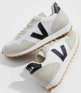Sneaker Damen Vegan - SDU - Alveomesh - White Black Natural - Veja