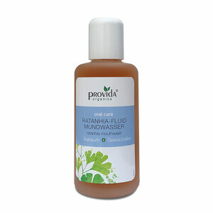 Ratanhia-fluid Mundwasser - Provida Organics