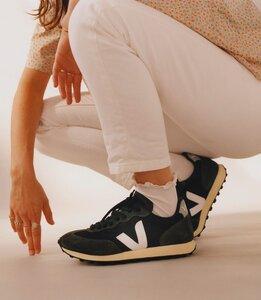 Sneaker Damen - Rio Branco Alveomesh - Black White Oxford Grey - Veja