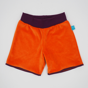 Nicki Shorts Orange/Aubergine - bingabonga®
