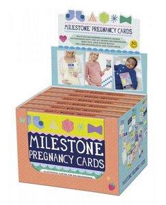 Milestone Baby Cards Schwangerschaft - Milestone