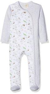 DimOrganic Schlafanzug mit Fuß Eule - DimOrganic