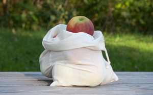 Naturtasche aus Biobaumwolle 26x36cm - Naturtasche