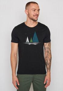 Herren Shirt 100% Biobaumwolle Nature Lake Guide - GreenBomb