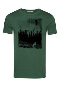Herren Shirt 100% Biobaumwolle Nature World Champion Guide - GreenBomb
