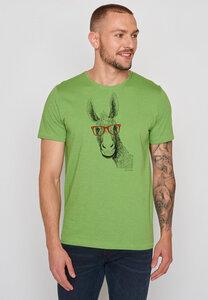 Herren Shirt 100% Bio Baumwolle Animal Donkey Spice - GreenBomb