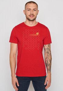 Herren Shirt 100% Bio Baumwolle Bike Rings Spice - GreenBomb