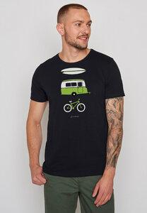 Herren Shirt 100% Bio Baumwolle Nature Fun Spice - GreenBomb