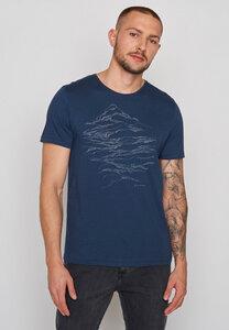 Herren Shirt 100% Bio Baumwolle Nature Hike Spice - GreenBomb