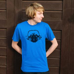 'Pekinese' Männer T-Shirt - shop handgedruckt