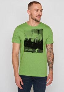Herren Shirt 100% Bio Baumwolle Nature World Champion Spice - GreenBomb