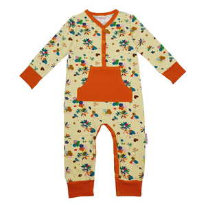 Strampler mit Blumenmotiv - Baba Kidswear
