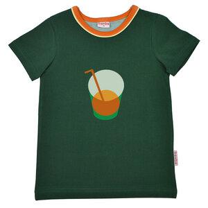T-Shirt mit Getränk als Motiv - Baba Kidswear