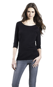 Women's Organic 3/4 Shirt - Continental Clothing