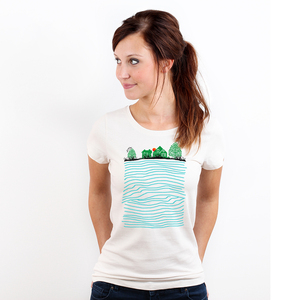 Rising Tide - Frauenshirt von Coromandel - Coromandel