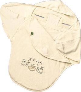 Lotties Baby Einschlagdecke Bio Baumwolle Arche 3-Punkt oder 5-Punkt - Lotties