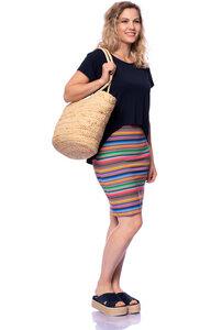 CASCADA 2tlg. Set Umstands- und Stillkleid aus Bambus-Viskose - Milchshake