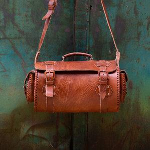 HECHO Weekender 'Vincente' (Reisetasche, Handgepäck, Ledertasche, Tasche, Leder) - hecho.