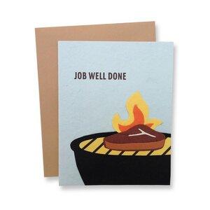 Grusskarte 'Job Well Done' - Good Paper
