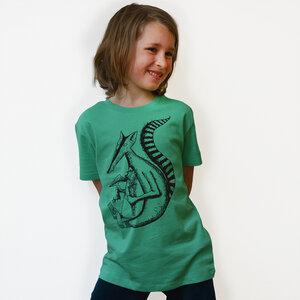 Kinder T-Shirt Duchs vivid green  - Cmig