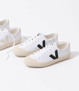 Sneaker Damen Vegan - Nova Canvas - White Black - Veja