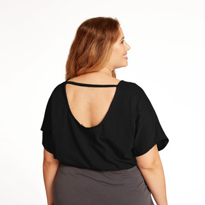 Rückenfreies Shirt FARI aus TENCEL® Modal Jersey - WiDDA berlin