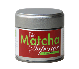 Japan Bio Matcha Pulver - Superior - Original Japan Matcha Tee - Premiumqualtiät  - 30 g Dose - Quertee
