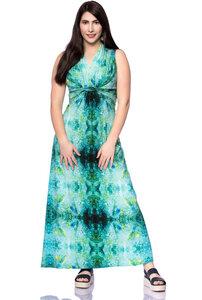 GAJA Maxi Umstands-& Stillkleid mit geknoteter Taille aus Bambus-Viskose - Milchshake