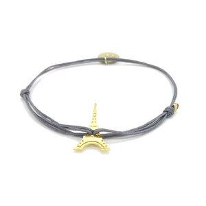 Armband Eiffelturm vergoldet - MUNICH JEWELS
