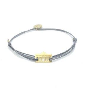 Armband Brandenburger Tor vergoldet - MUNICH JEWELS