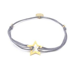 Armband Stern vergoldet - MUNICH JEWELS