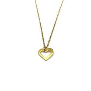 Halskette Herz vergoldet - MUNICH JEWELS