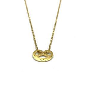 Halskette Breze vergoldet - MUNICH JEWELS