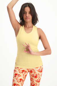 Yoga Top Bliss mit Cut-Outs – Bio-Baumwolle - Urban Goddess