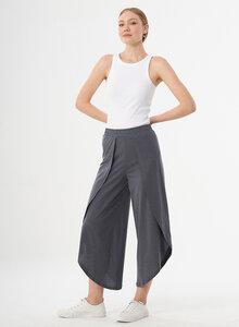 Jerseyhose aus TENCEL-Mix mit weitem Beinschnitt - ORGANICATION