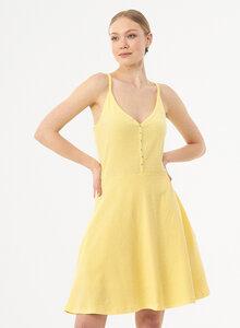 Spaghettiträger-Kleid aus Bio-Baumwolle - ORGANICATION