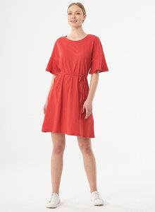 Jerseykleid aus Bio-Baumwolle und Leinen - ORGANICATION