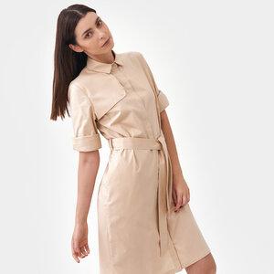 Trench Shirtkleid - Mila.Vert