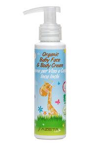 Bio Baby Creme für Gesicht und Körper 100ml - AZETA bio