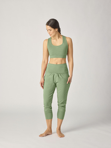 Organic Womens Yoga Pant 3/4 - Lotuscrafts