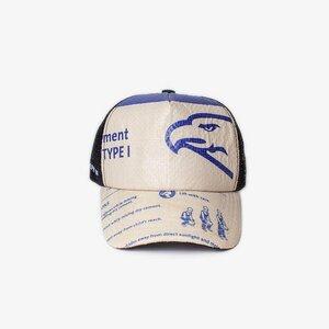 Recycling Cap Mesh – Blue - Elephbo