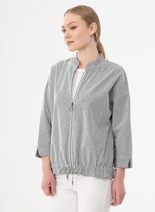 Jacke aus Bio-Baumwolle mit Streifenmuster - ORGANICATION