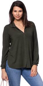 KELLY Jersey Hemdbluse aus TENCEL Modal - Ingoria
